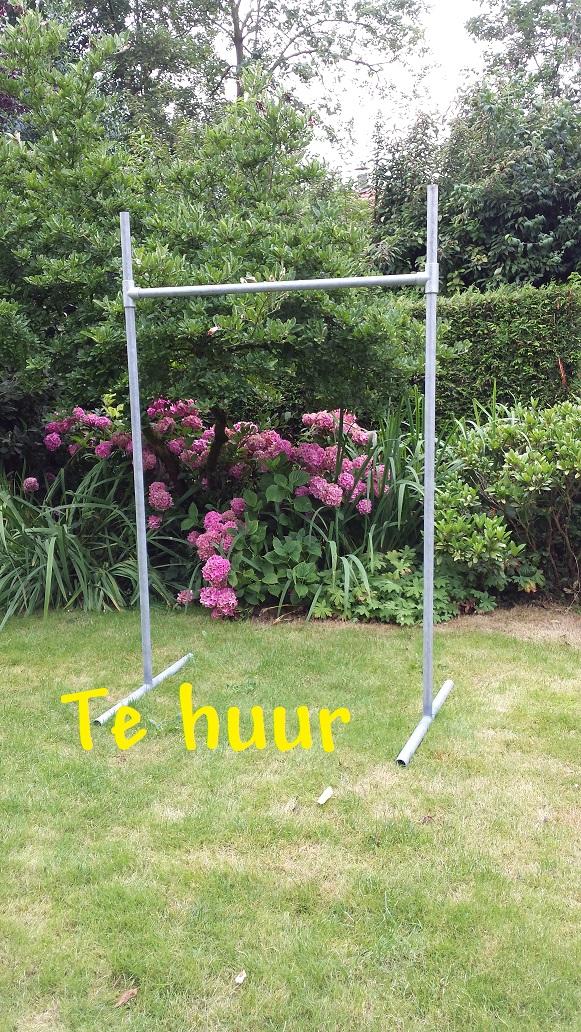Rekstok verhuur Klimrek.nl